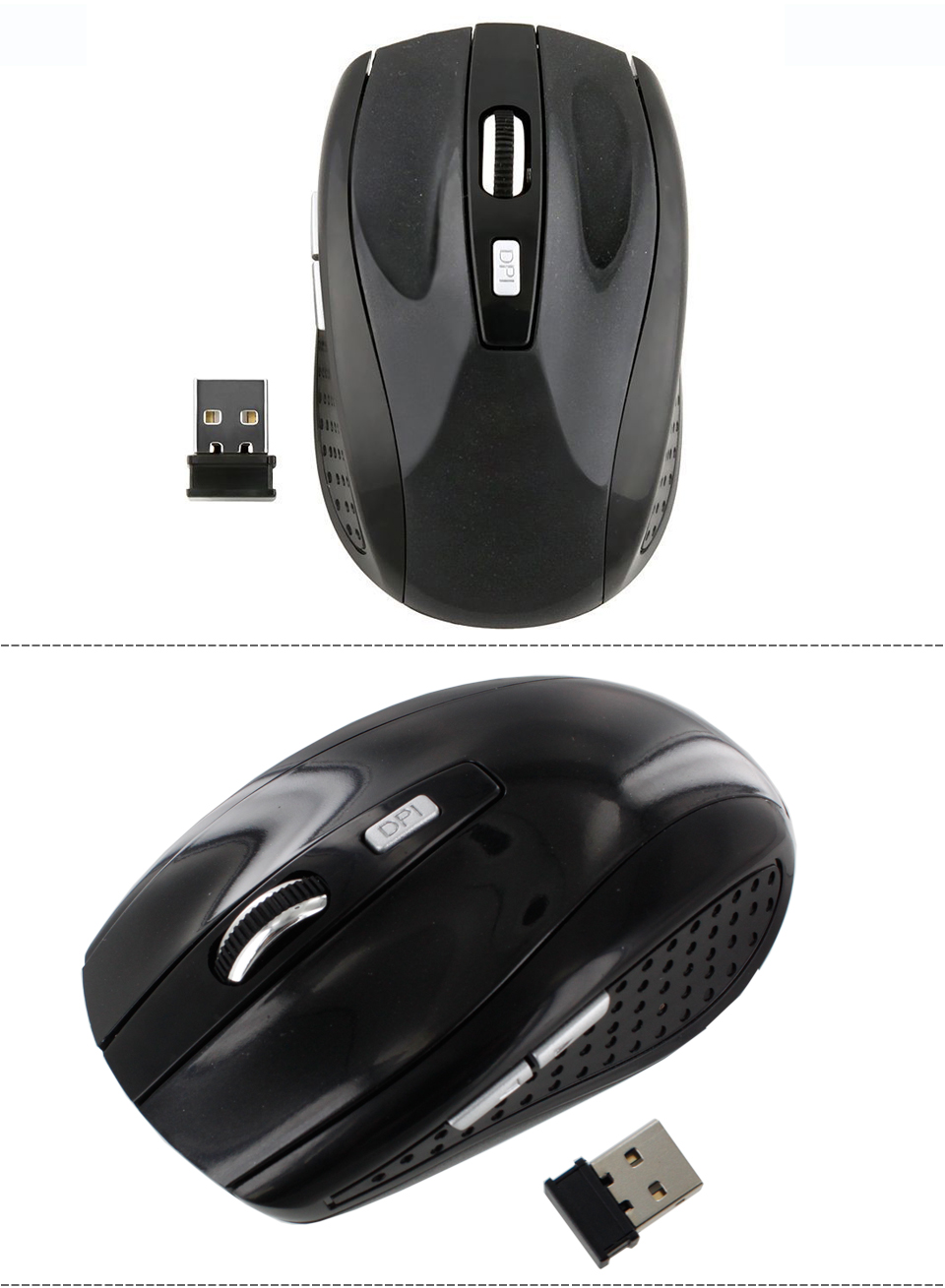 2 4ghz Wireless Optical Mouse Mice W Usb 2 0 Receiver For