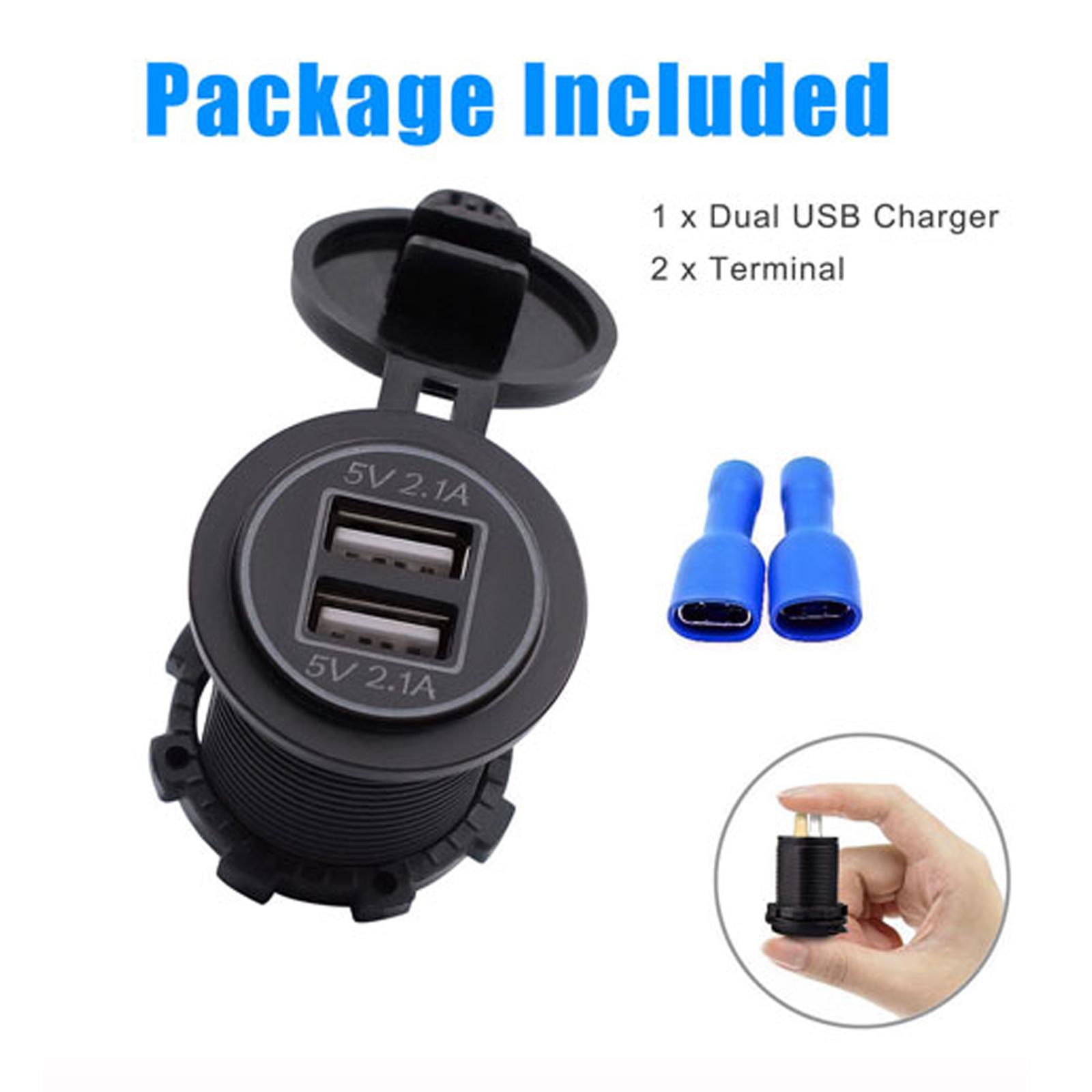 Dual-USB-Car-Cigarette-Lighter-Socket-Splitter-Power-Adapter-Charger-Outlet-12V thumbnail 15