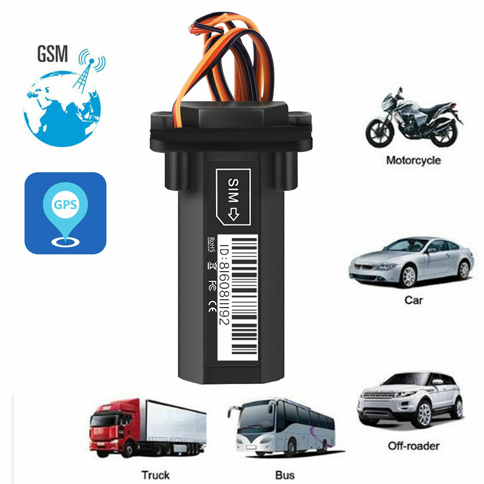 Car-Vehicle-Motorcycle-GSM-GPS-Tracker-Locator-Global-Real-Time-Tracking-Device thumbnail 8