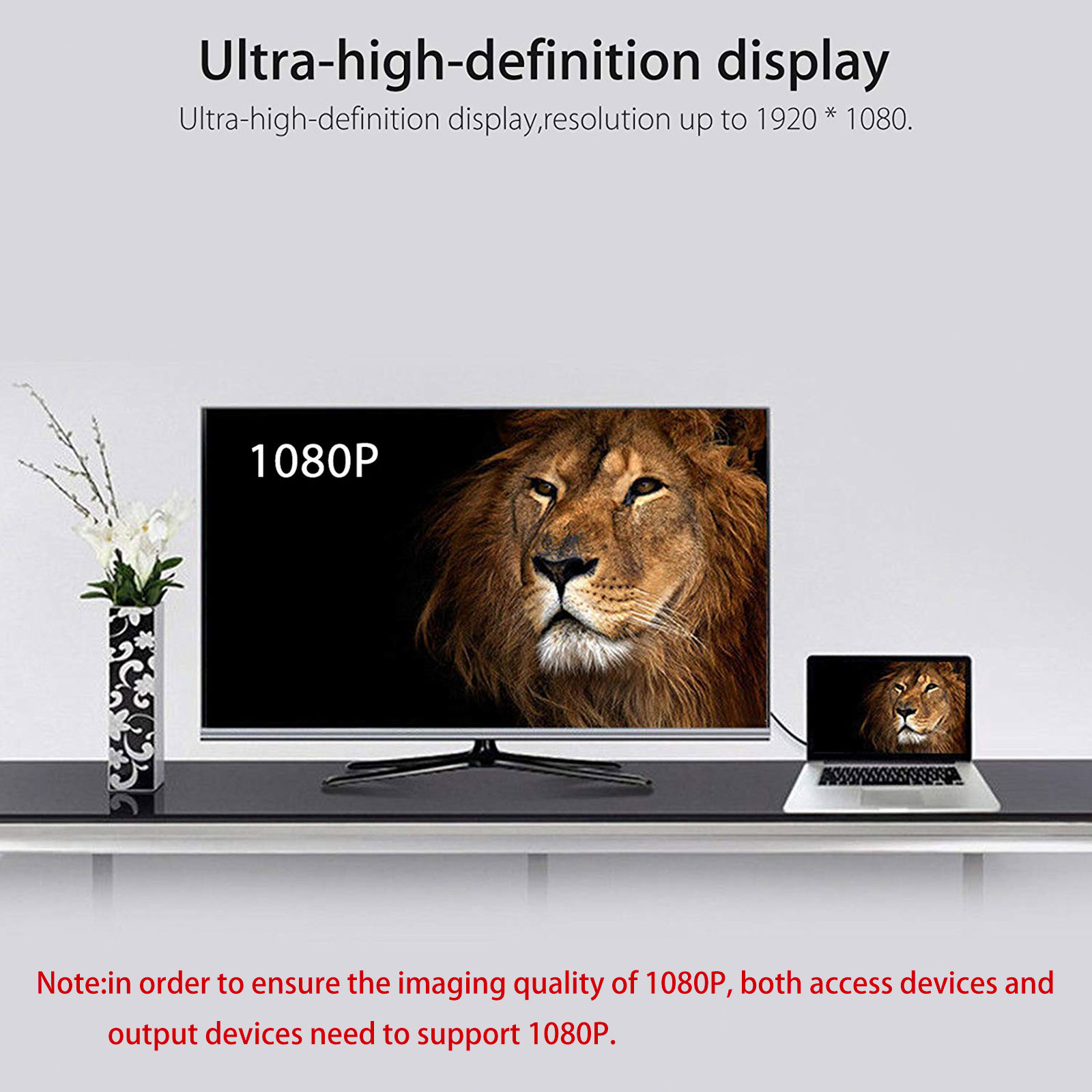 HD-1080P-HDMI-to-USB-3-0-Video-Cable-Adapter-Converter-For-PC-Laptop-HDTV-LCD-TV thumbnail 3