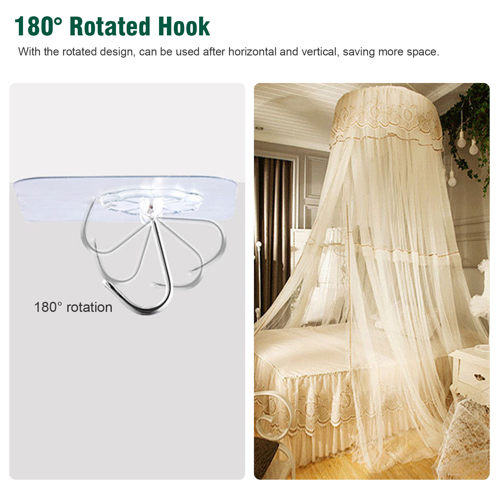 20-40x-Adhesive-Sticky-Hooks-Heavy-Duty-Wall-Seamless-Hooks-Hangers-Transparent thumbnail 5