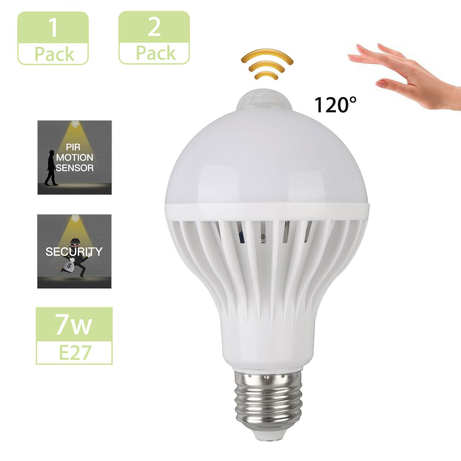 PIR-Motion-Sensor-E27-7W-9W-LED-Lamp-Bulb-Body-Infrared-Auto-Energy-Saving-Light
