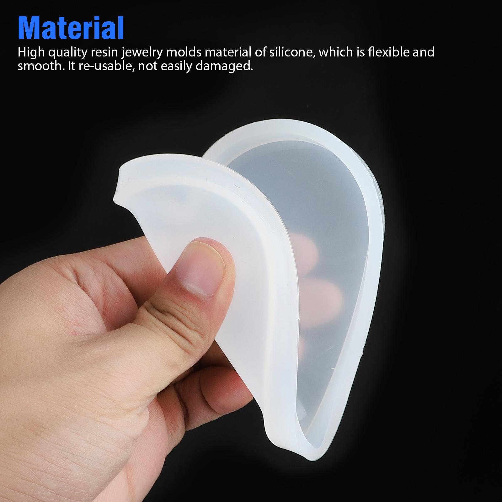 Silicone-Resin-Molds-Epoxy-Casting-Art-Coaster-Ashtray-Bowl-Mat-DIY-Craft-Tool thumbnail 2
