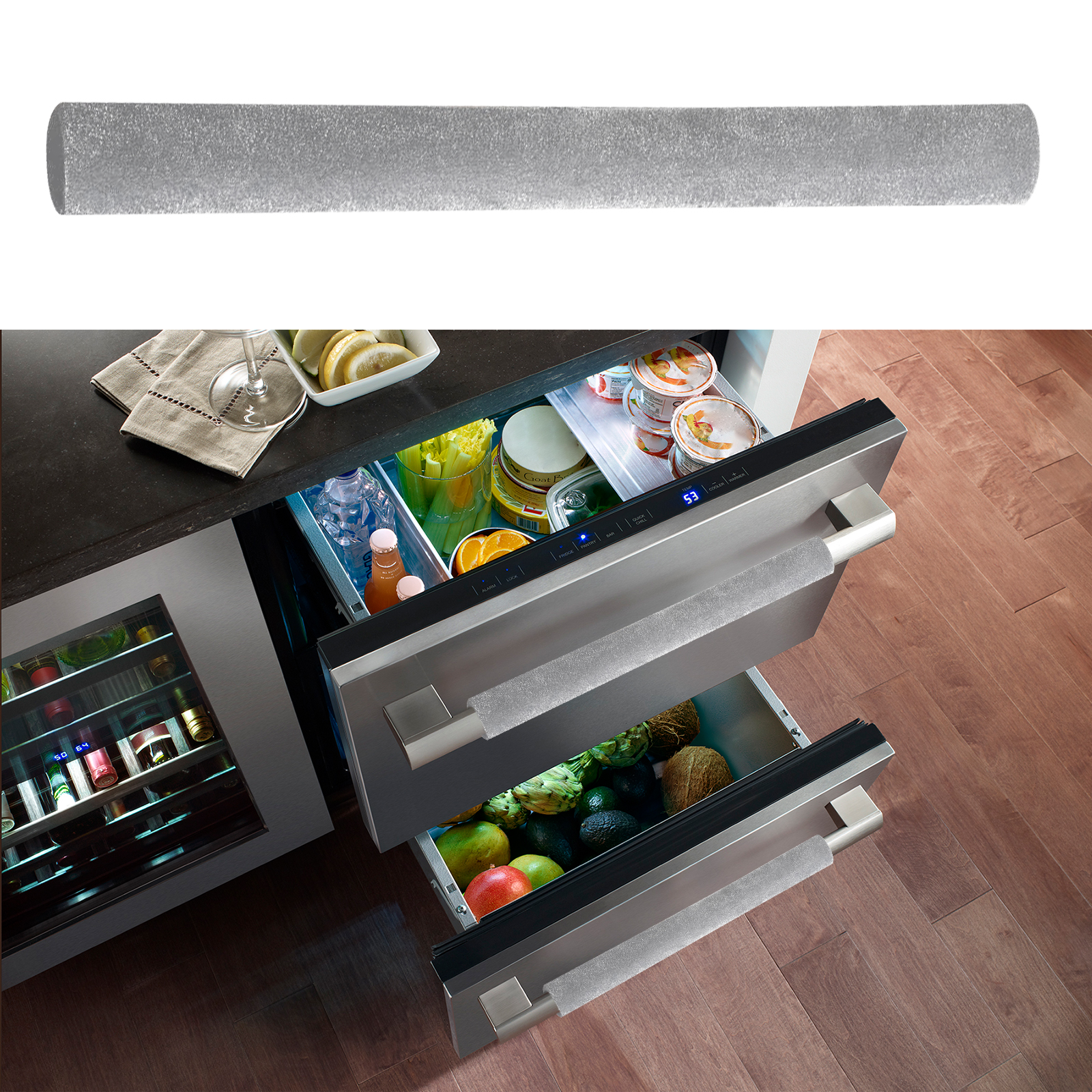 2-4pcs-Kitchen-Refrigerator-Oven-Door-Handle-Cover-Home-Decor-Protector-Smudges thumbnail 6