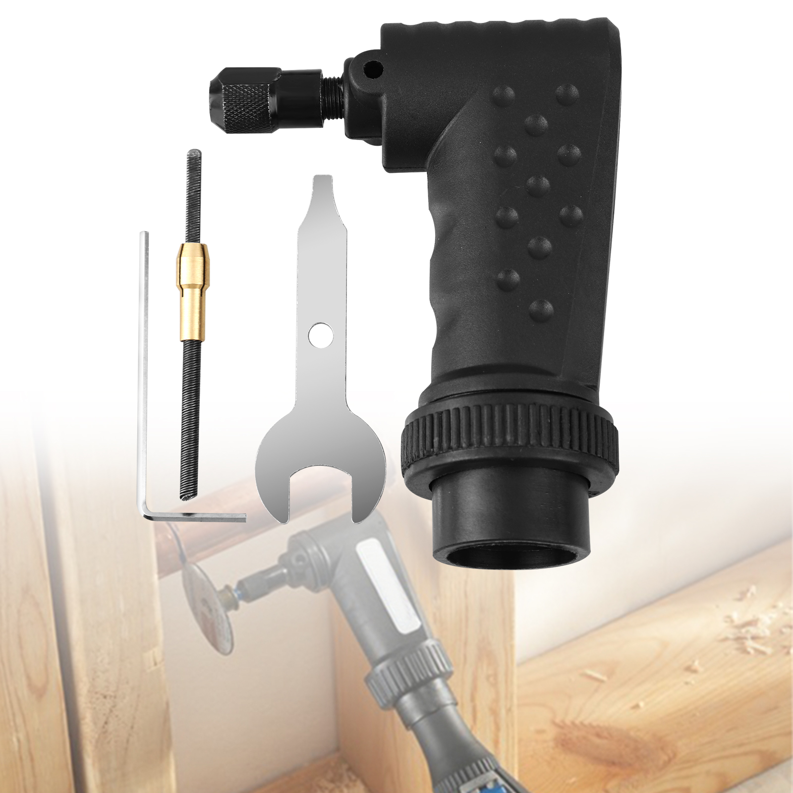 Right Angle Converter Cut Tool Adapter Attachment for Dremel
