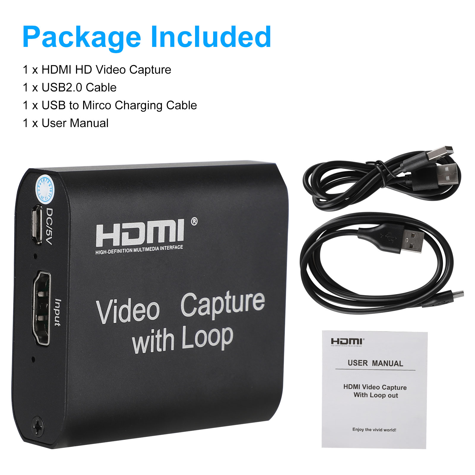 1080p-60fps-HDMI-Video-Digtal-Capture-Card-Recorder-for-Streaming-Meeting-Game thumbnail 9