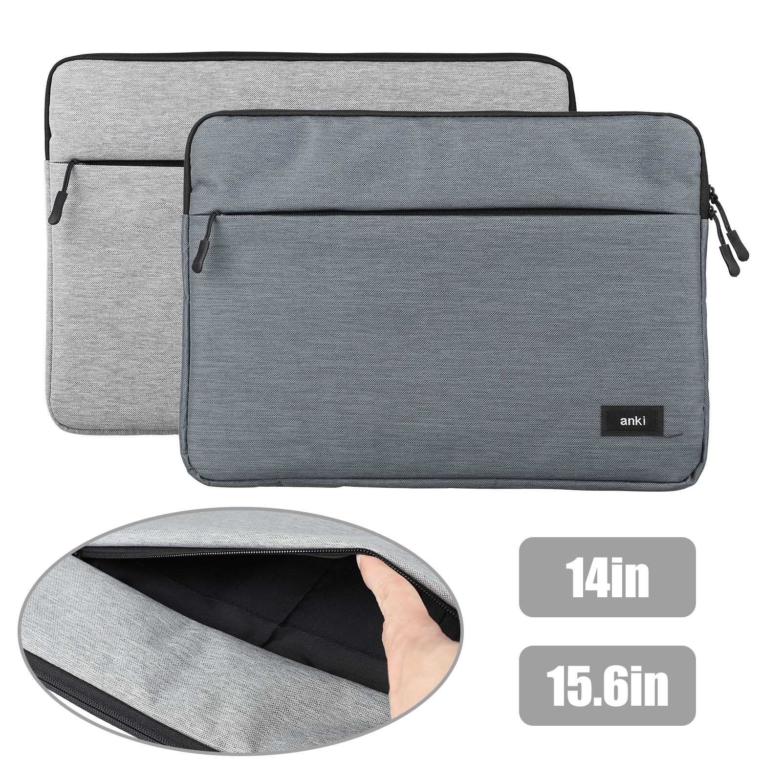 Waterproof Laptop Sleeve Case Carry Cover Bag Pouch for14/15