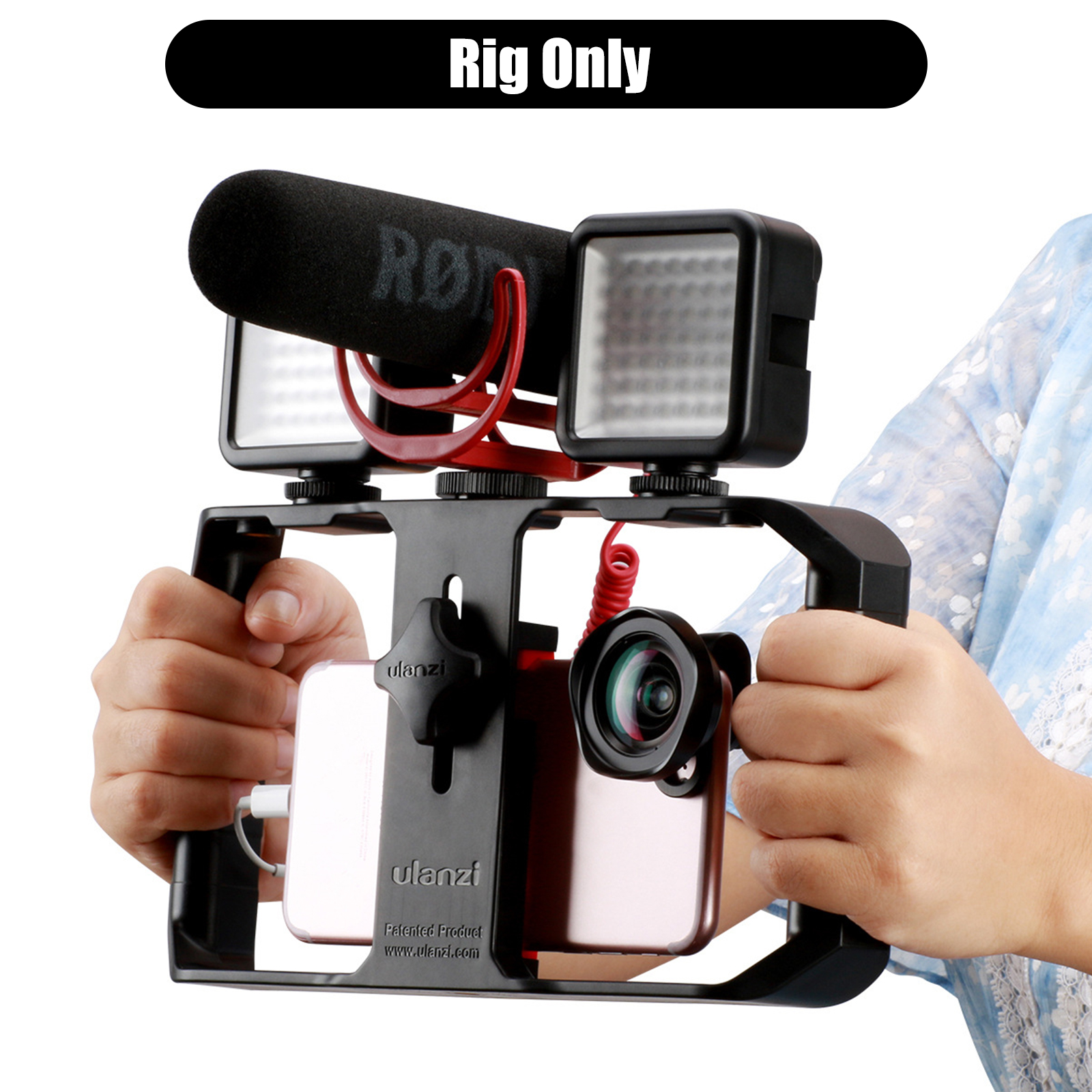 video stabilizer rig case smartphone filmmaking recording