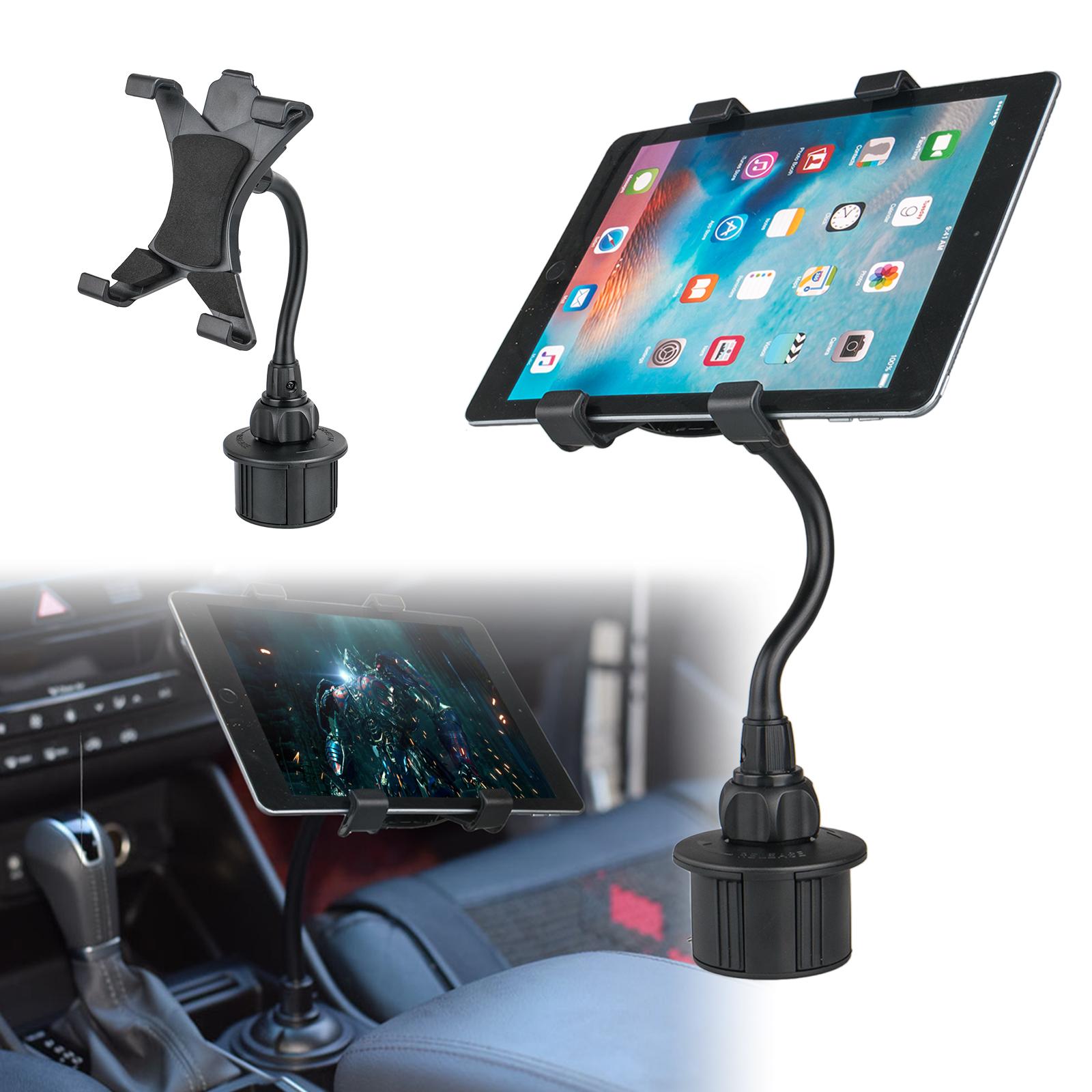 Adjustable Car Cup Holder Mount for Apple iPad Mini Samsung
