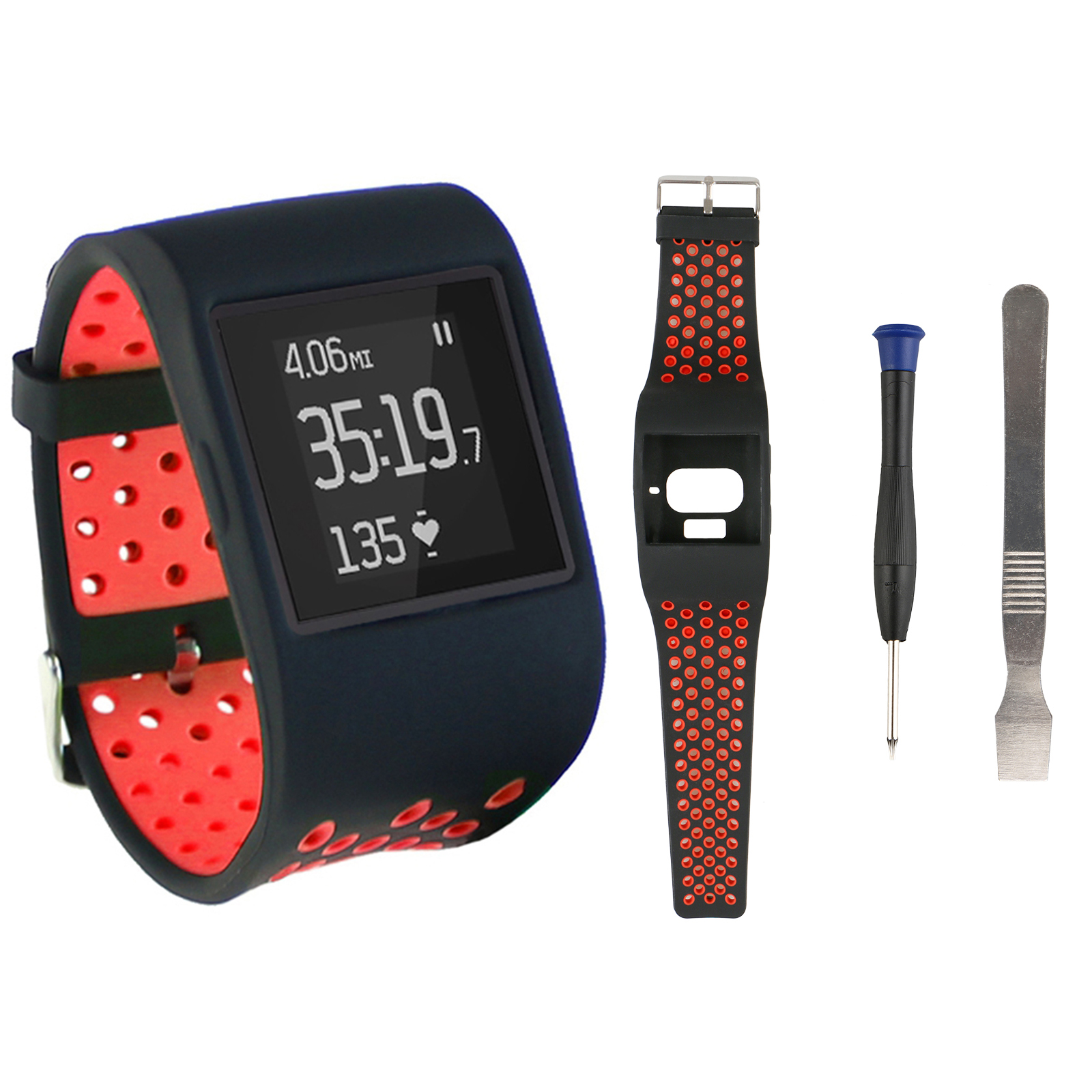 For-Fitbit-Surge-Replacement-Band-Strap-Silicone-Watch-Tracker-Wristband-Large