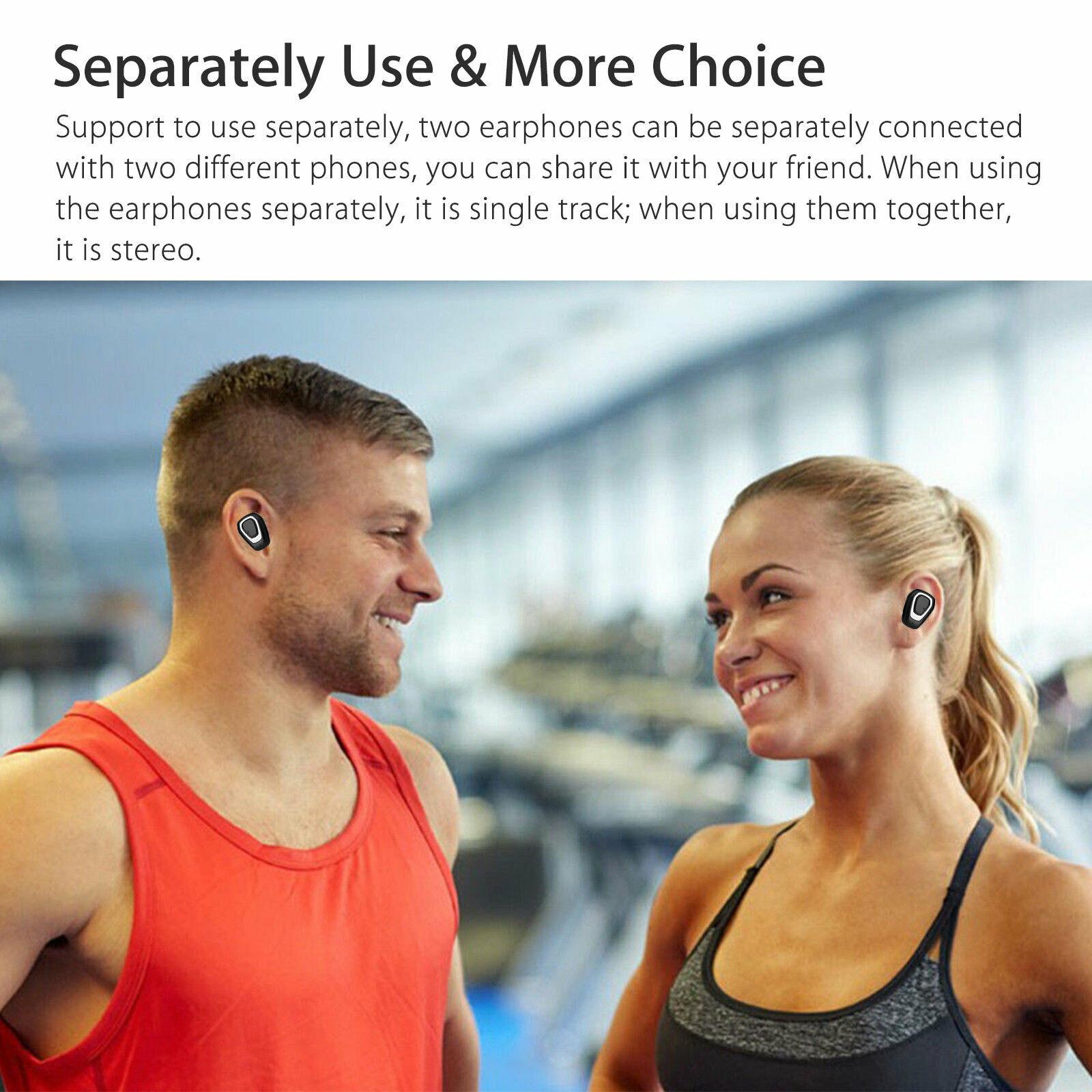 Earbuds-Headphone-Wireless-TWS-Mini-In-Ear-Headset-Deep-Bass-Earphones-5D-Stereo thumbnail 4