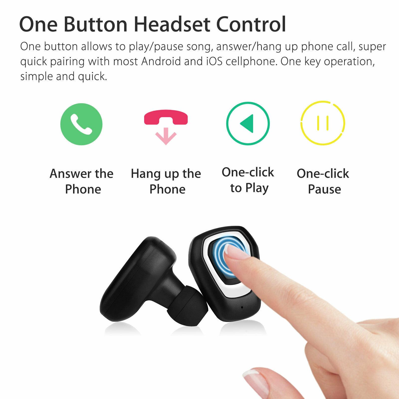 Earbuds-Headphone-Wireless-TWS-Mini-In-Ear-Headset-Deep-Bass-Earphones-5D-Stereo thumbnail 6