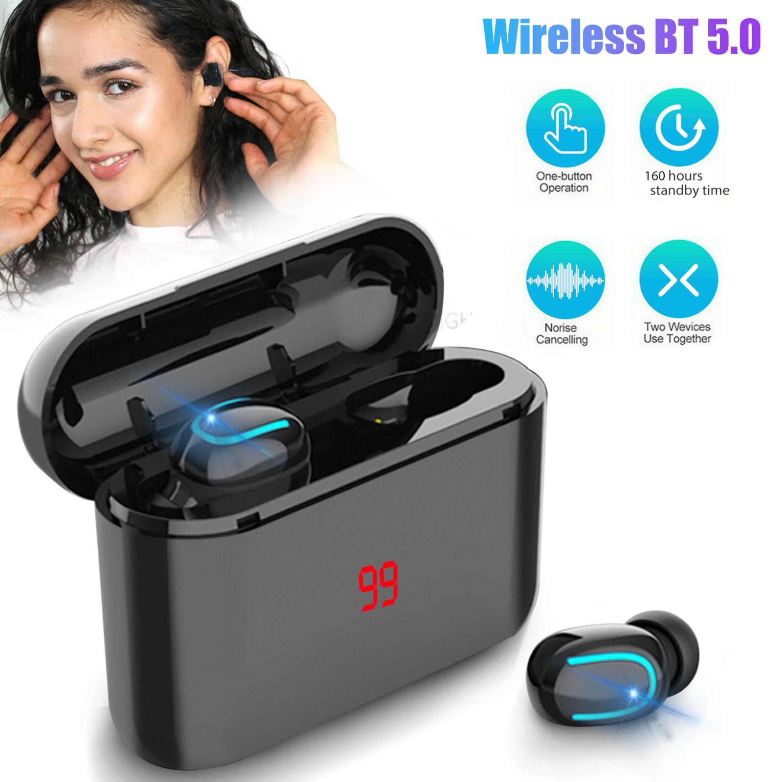 Wireless Bluetooth 5.0 Earphone Earbuds Headset For Apple iP