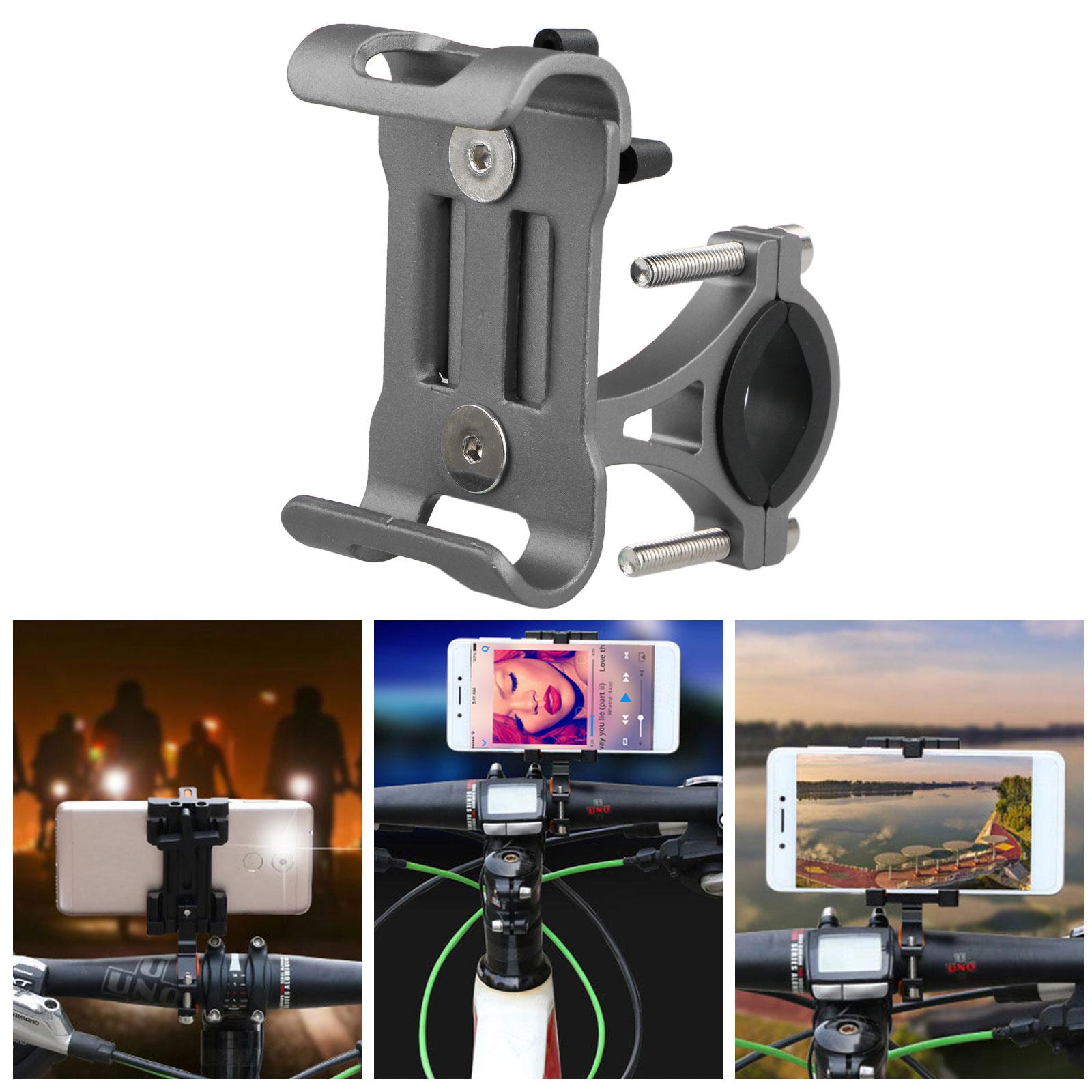 Aluminum-Motorcycle-Bike-Bicycle-Holder-Mount-MTB-Handlebar-For-Cell-Phone-GPS