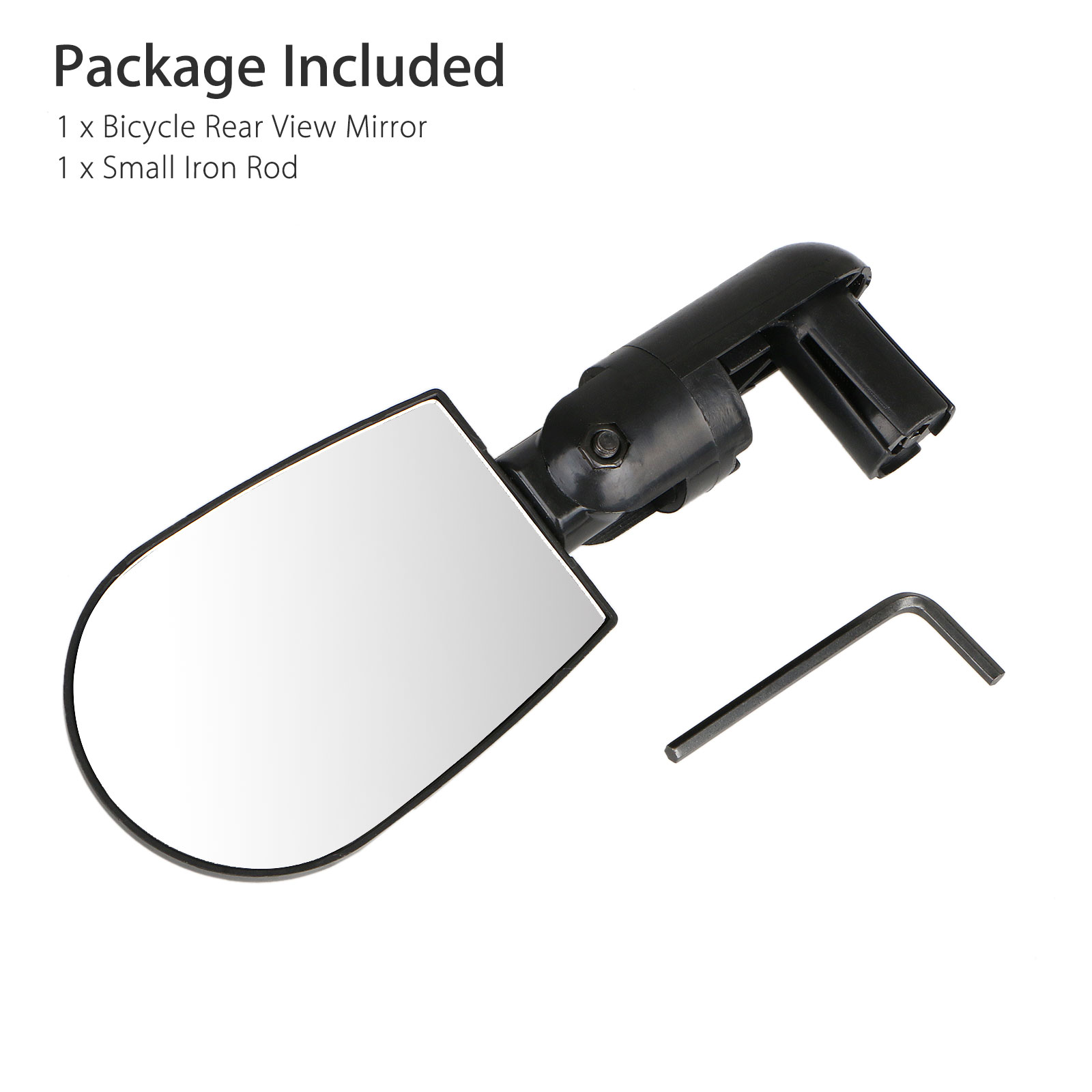 Rotatable-Handlebar-Rearview-Mirror-for-Bike-Bicycle-Cycling-Rear-View-Mirror thumbnail 8