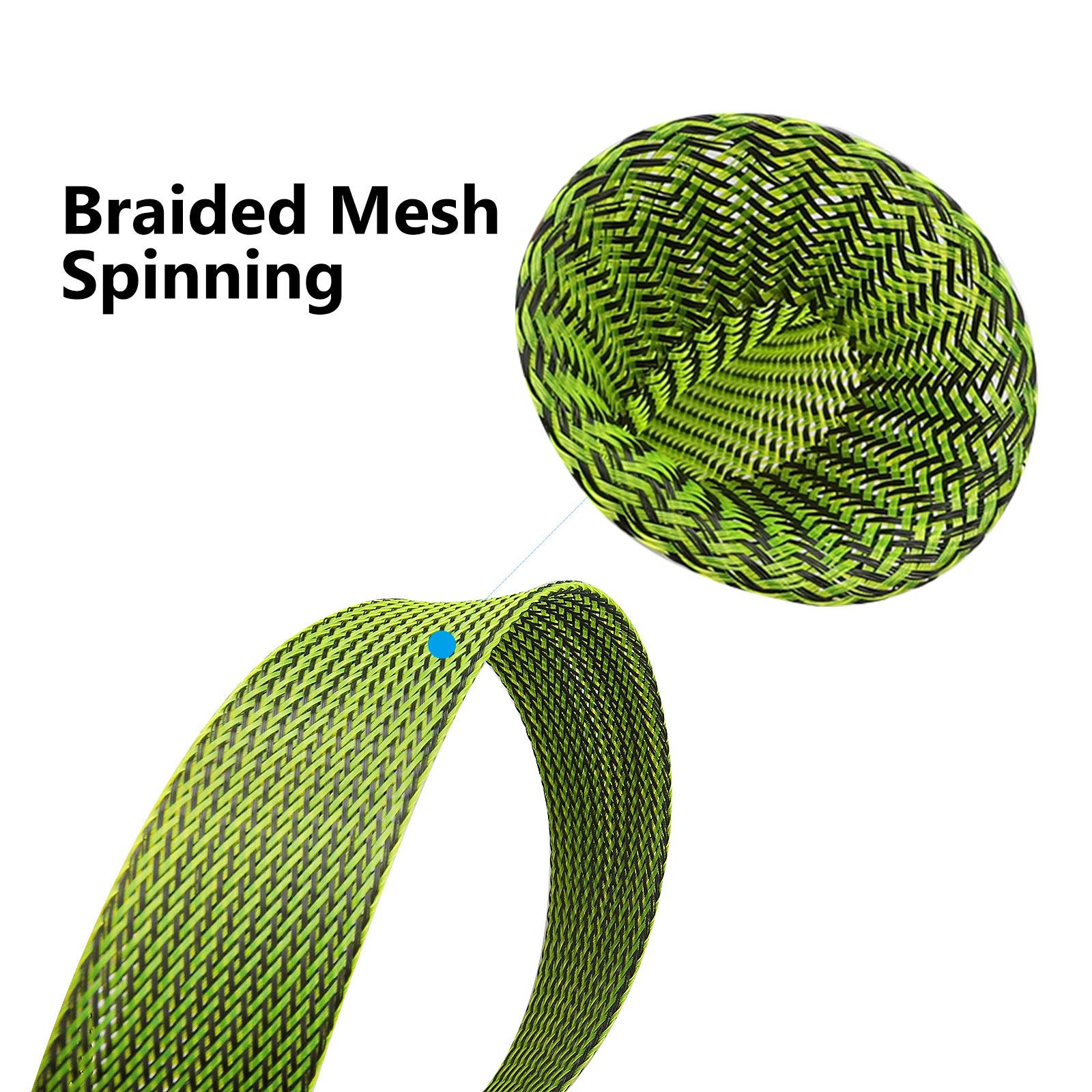 10Pcs-67-039-039-Fishing-Spinning-Rod-Sock-Covers-Braided-Mesh-Rod-Protector-Sleeve-US thumbnail 5