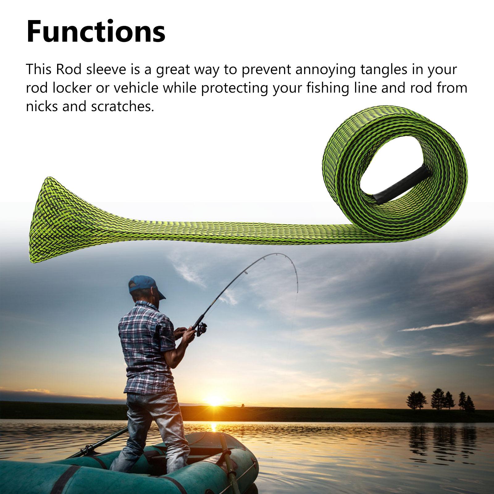 10Pcs-67-039-039-Fishing-Spinning-Rod-Sock-Covers-Braided-Mesh-Rod-Protector-Sleeve-US thumbnail 7