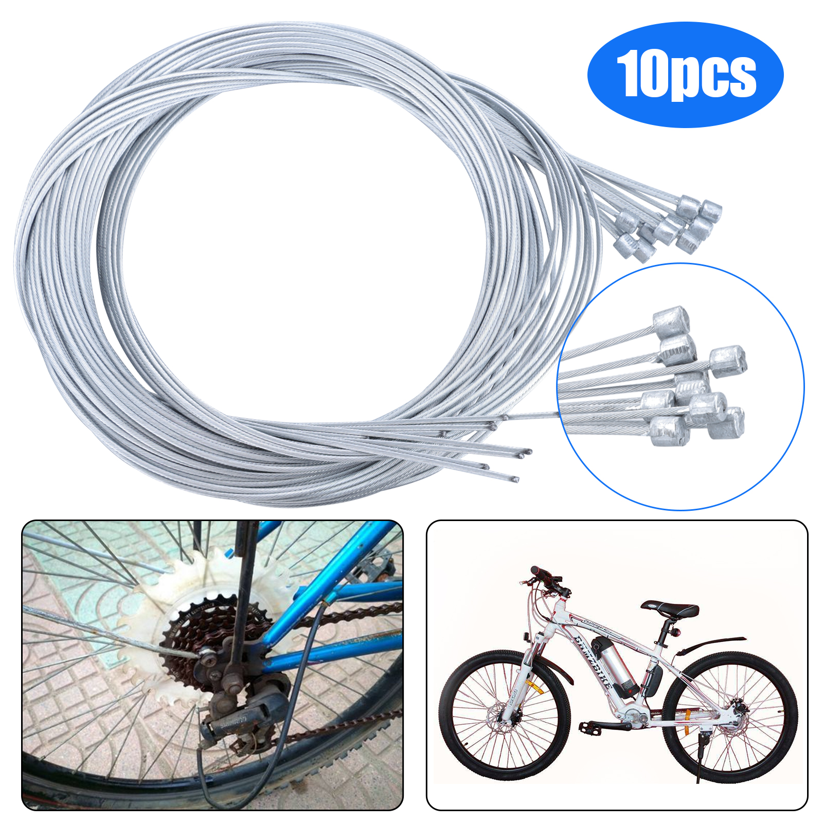 20 pcs Road Mountain Bike Bicycle Brake Derailleur Shifting Line Pipe CableCa-L8