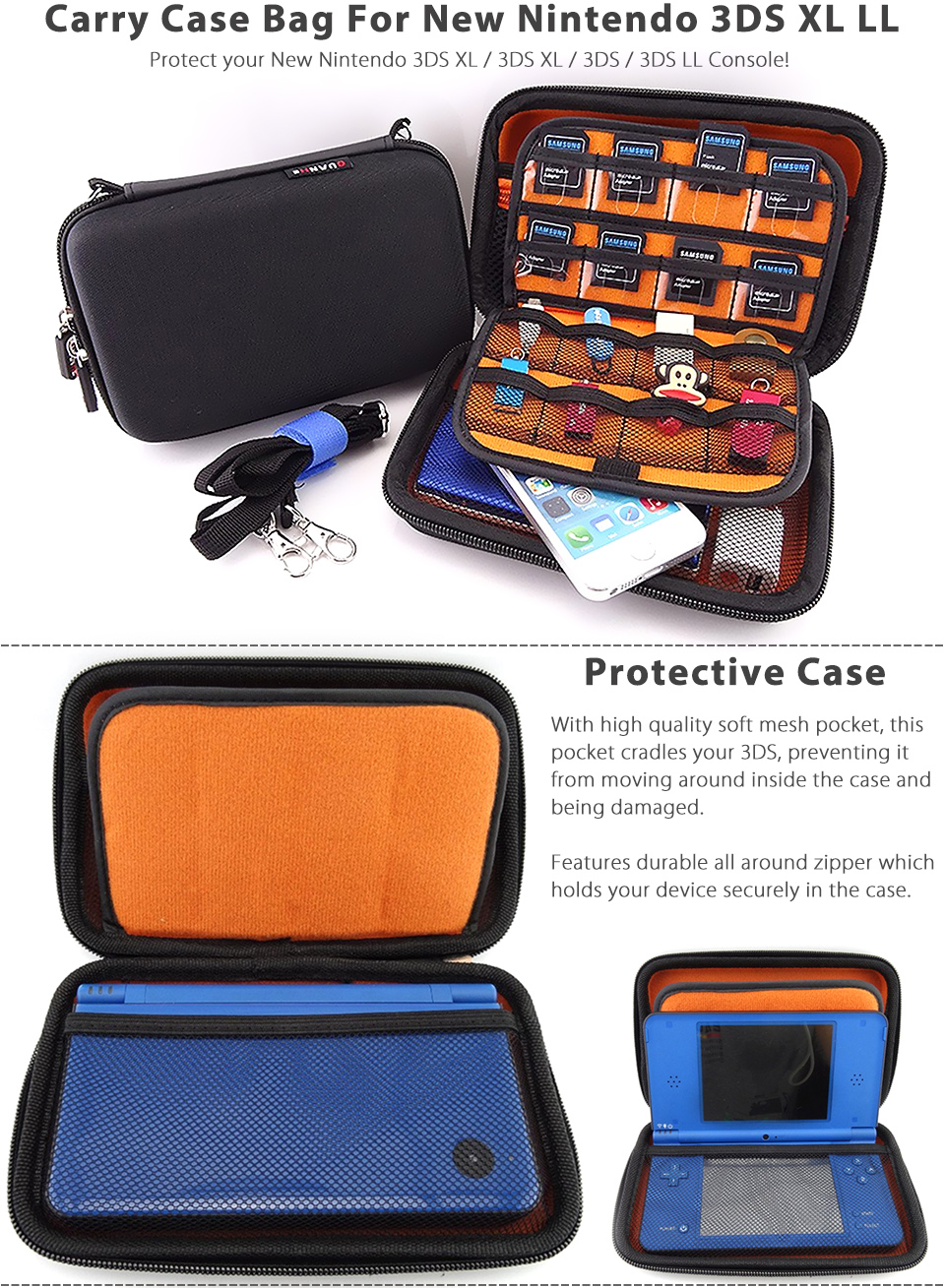 Nintendo 3ds Colors Cases Protective Carr...